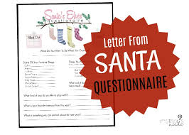 Now while santa and his deer are super. Letter From Santa Free Printable Santa Claus Letter