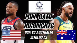 USA vs AUSTRALIA Full Game Highlights ...