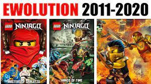 ALL LEGO Ninjago Posters Evolution