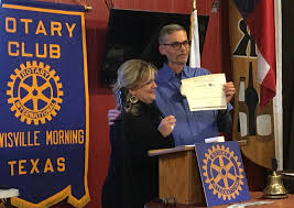 Lewisville Morning Rotary Awarded Rotary International Presidents