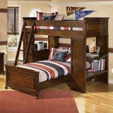 bunk bed with slide and desk. Replace Two Beds And Desks With A Space-saving L-shaped Bunk Bed;  You\u0027ll Gain Lots Of floor Space. The Lower Is On Casters For Easier Bed-making Bed Slide Desk S