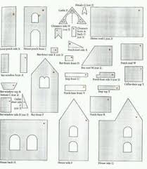 Gingerbread House Patterns Cool Free Gingerbread House Template With Video Instructions And Lots Of