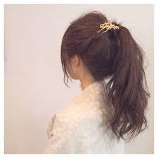 短い髪でも自然ポニーテールウィッグで叶えるおすすめアレンジ Arine