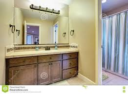American Home Design Bathrooms Typical American Bathroom Interior Design Stock Photo