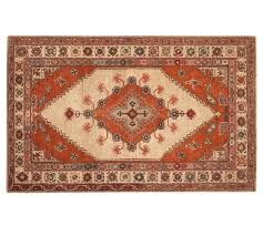 sahara persian style rug orange