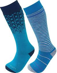 Lorpen Merino Kids Ski Socks 2 Packs