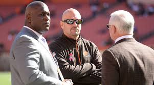 nfl wild card schedule set black monday starts early for coaches gm ray farmer left and coach mike pettine center were in their jobs for two seasons before being fired by owner jimmy haslam