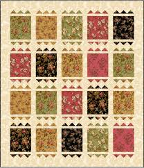 Stamp Pad in McCall's Quick Quilts (April/May 2017) & More – Ivory ... & This is a design that majors in the basics — flying geese and rectangular  patches — and yet, the result is quite eye-catching, no? Adamdwight.com