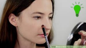 image led make your nose look smaller step 1