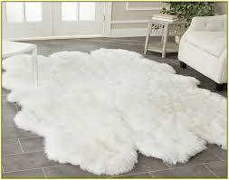 4x6 sheepskin rug large white sheepskin rug home design ideas