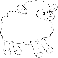 Small Picture Lost Sheep Coloring Pages The Parable Of The Lost Sheep Sheep