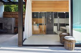 pool house furniture. Modern Pool House Retreat By ICRAVE Furniture S