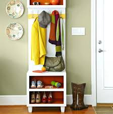 Coat Rack Storage Unit Inspiration Shoe Storage Units Hallway Cabinet Simple Classic Coat And Shoe Rack