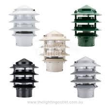 Three Tier Bollard Head Conical Helmet Bollard Head Only Domus - Exterior bollard lighting