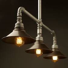industrial pipe lighting. Colossal Galvanized Pipe Lighting DIY Industrial Bathroom Light Fixtures