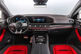 Both models have five seats as standard, though the suv is optional with a third row. 2021 Mercedes Benz Amg Gle 53 Coupe Review Trims Specs Price New Interior Features Exterior Design And Specifications Carbuzz