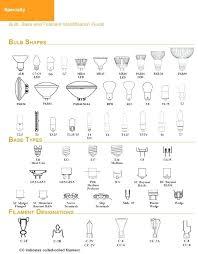 Light Bulb Types Chart Lovetoread Me