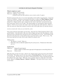 Resume Cover Letter For A Job Fair Adriangatton Com