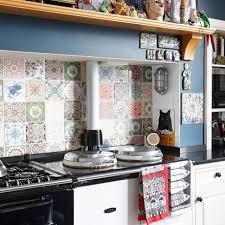 kitchen tiled splashback designs. play with patchwork kitchen tiled splashback designs