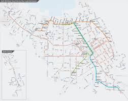 San Jose Light Rail Map Proposed Light Rail Routes Draft 2019 New Transit Service Plan