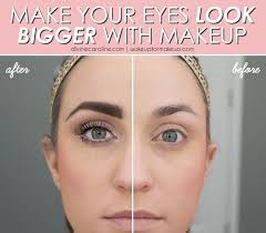 how to make your eyes look bigger with makeup the makeup you choose for your eyes