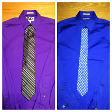 Purple Tie Light Blue Shirt Skinny Tie Boots And Bowties A Guys Guide
