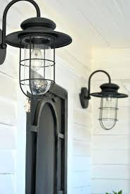 pottery barn outdoor lighting. Gorgeous Farmhouse Outdoor Lighting A Vintage Home 5 Porch Pottery Barn . O
