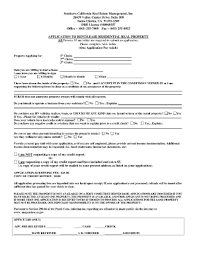 Month To Month Rental Form Fillable - Fill Online, Printable ...