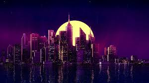 Its resolution is 1920px x 1080px, which can be used on your desktop, tablet or mobile devices. Wallpaper Neon City Purple Background 1920x1080 D00d34 1772283 Hd Wallpapers Wallhere