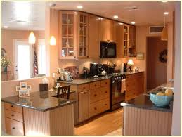 Kitchen Peninsula For Small Kitchens Kitchen The Key Principles Of Galley Kitchen Remodel Galley