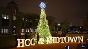 Christmas Tree Lighting Houston Hcc Midtown Houston 2019 Holiday Tree Lighting Ceremony