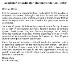 Format Letter Of Recommendation Academic Academic Recommendation Letter 20 Sample Letters Templates