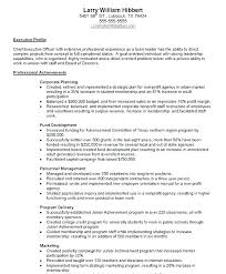 Achievements On Resume Examples Accomplishments Skills