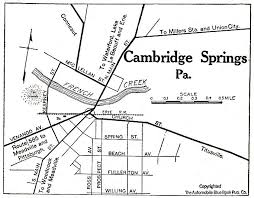 cambridge_springs_pa_1920 pennsylvania maps perry casta�eda map collection ut library online on pa printable map