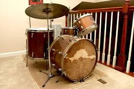DJ Fontana's Elvis Era Drum Kit