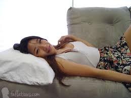 Submissive Asian blowjob doll Meiko Askara 18 year old deepthroat.