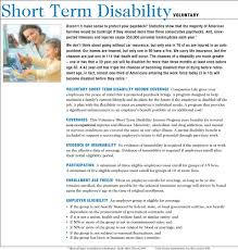 Short Term Disability Short Term Disability Benefits For Employees That Benefit