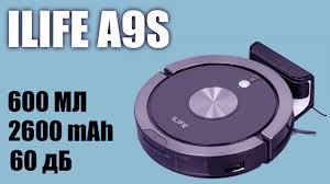 Обзор <b>робота пылесоса ILife A9s</b> - YouTube
