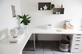 furniture shaped glass desk ikea inspirational minist corner setup top computer and chair set study