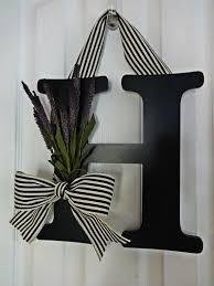 front door lettersWreaths amazing monogrammed wreaths for front door Letter Wreaths