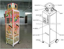 Popcorn Vending Machine For Sale Custom 48 New Type Food Machine Coinoperated Popcorn Vending Machine For