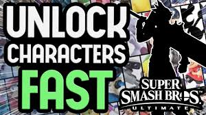 Smash Ultimate Classic Mode Unlock Chart The Fastest Way To Unlock All Characters In Super Smash Bros Ultimate