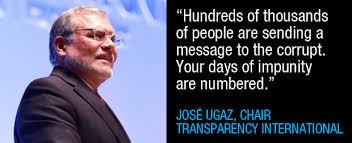 Ugaz Quote Impressive Putrajaya Declaration Zero Tolerance For Impunity Transparency