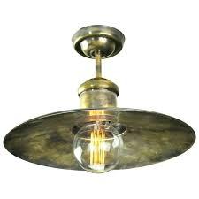 unique antique brass flush ceiling lights for vintage industrial design flush ceiling light in antique brass