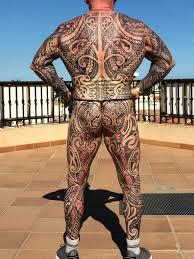 британский пенсионер бодибилдер зататуировал всё тело Tattoo Today
