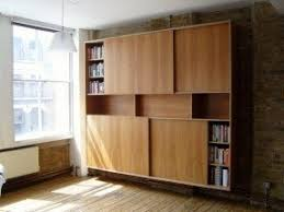 Bookcase sliding doors