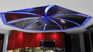 ceiling accent lighting. rgb flexible light strips line under custom ceiling for accent lighting