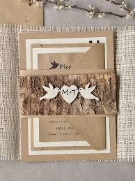 183 best kraft card stock rustic wedding invitations images on Diy Country Wedding Invitations rustic love birds wood wedding invitation very cool! diy country wedding invitations templates