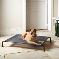 bunty elevated dog bed portable waterproof outdoor raised camping pet basket