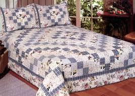 Buy Romantic Garden 100% Cotton Filled Quilt for King Size Bed by ... & Buy Romantic Garden 100% Cotton Filled Quilt for King Size Bed by American  Hometex Adamdwight.com